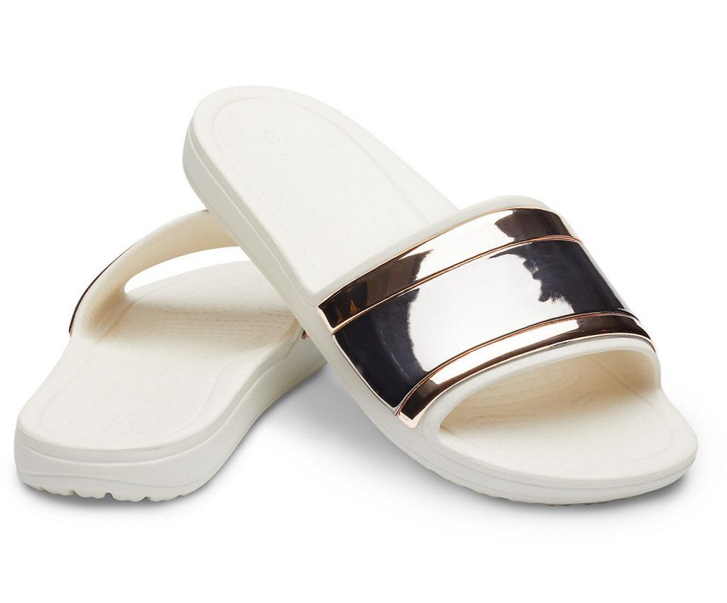 innovative design a45d4 e77e2 Crocs Schuhe Damen multi rose gold oyster