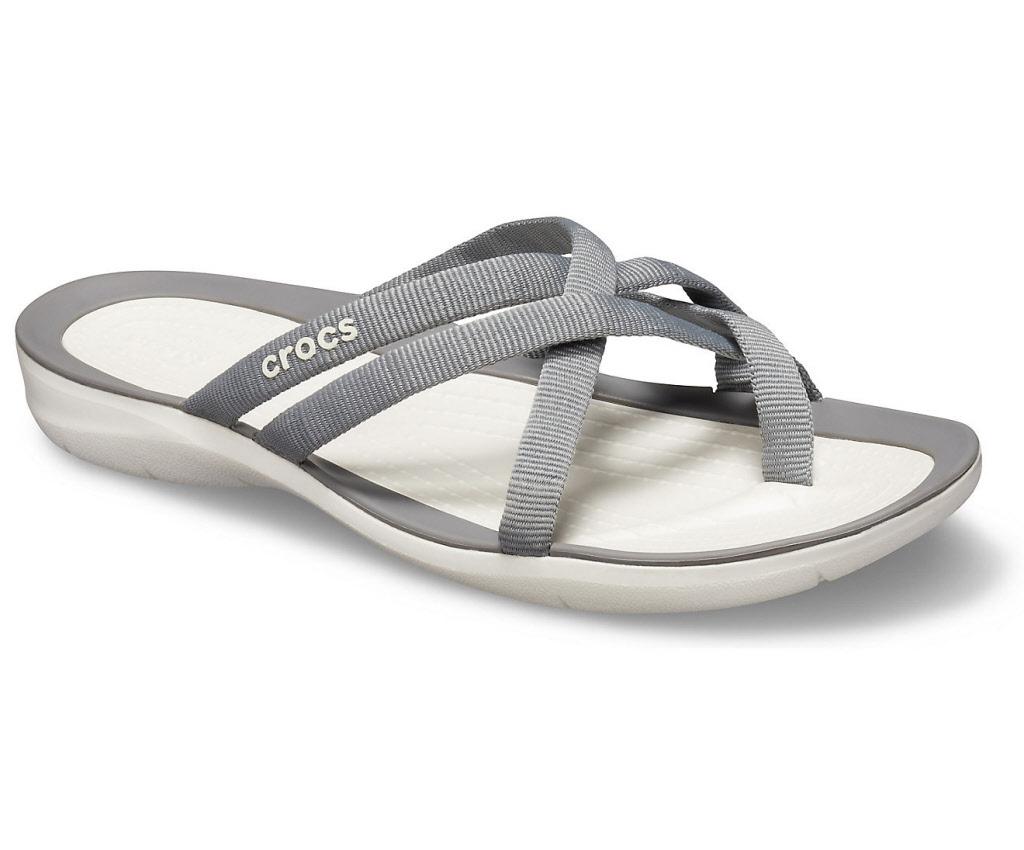 separation shoes ba823 3e808 Crocs Schuhe Damen smoke white