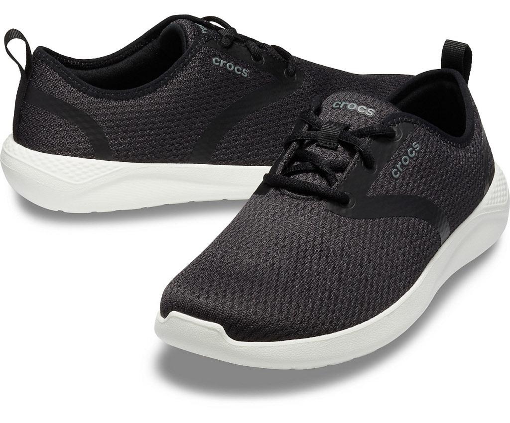 huge selection of ea3c7 b54ba Crocs Schuhe Herren black white