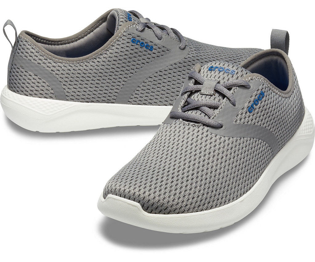 finest selection 1dd51 09d9a Crocs Schuhe Herren smoke white