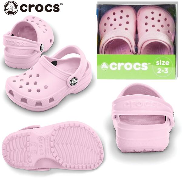 Crocs Schuhe Kinder Littles bubble gum